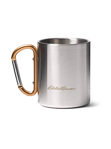 Eddie Bauer Double-Wall Cup w/Carabiner, Copper Regular ONESZE