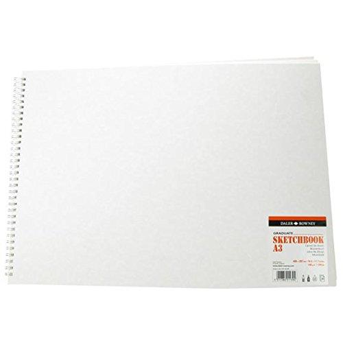 Daler-Rowney Graduate Premium Skizzenbuch A3 spiralgeheftet DR430160300
