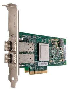 8GB Dual Port Fc Hba PCIE8 Lc Multimode Optic by QLogic