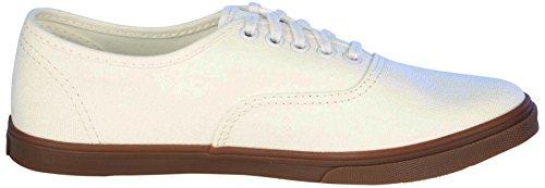 Vans Unisex Authentic (tm) Lo Pro Sneaker Gumsole Blanc De Blanc (Weiß)