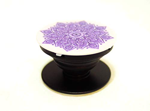 Purple Flower Pop up Phone Stand