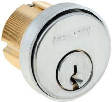 """Schlage 20-001C145-114 Conventional Mortise 1-1/4"""" Straight Cam Cylinder"""