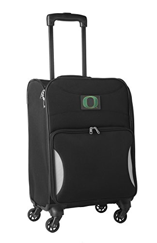 NCAA Oregon Ducks Lightweight Nimble Upright Carry on Trolley, 18-Inch, Black by NCAA