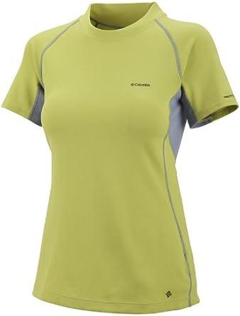 Columbia - Camiseta de Senderismo para Mujer: Amazon.es: Ropa y accesorios