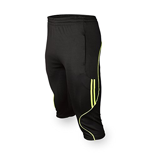 Shinestone Men's Feshion Mutdoors Sports 3/4 Training Soccer Pants Jogger Running Pants – DiZiSports Store