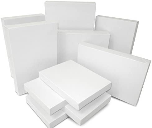 White Assorted Size Gift Boxes product image