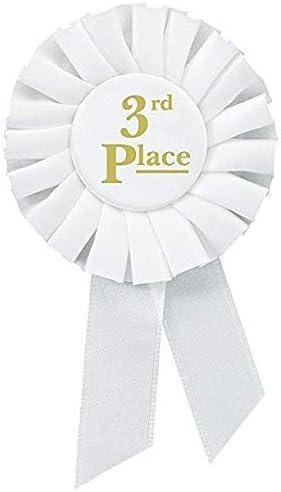 24-Pack/ bronce Premio roseta cintas oro 2/nd talento muestra 1st y 3rd place premios de reconocimiento de las abejas de ortograf/ía /Lazos de participaci/ón decoraciones plata ciencia ferias
