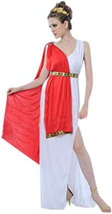 JSSFQK Cosplay de la Reina Griega, Disfraz de Cosplay for Mujer ...
