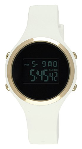 Moulin Ladies Digital Jelly Watch White #03158-76627 (Watches Women Jelly compare prices)