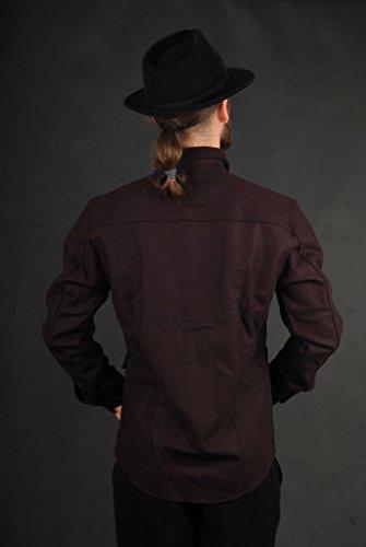 Adidas David Beckham Military Jacke Dark Burgundy