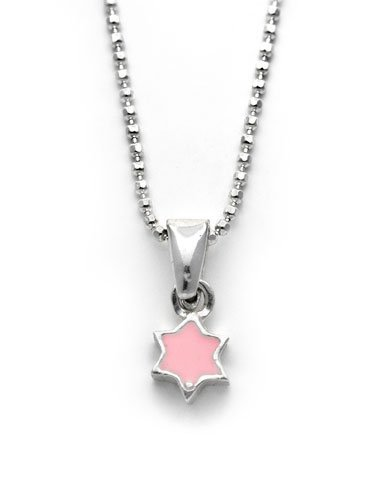 r Necklace - Pink, by Neta ()