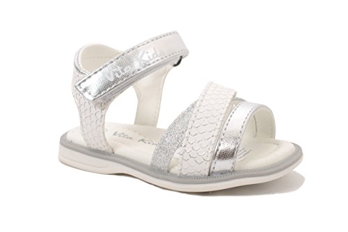 Vita Kids Summer Strappy Sandals - Shoes Girls, Silver, 9 M US Toddler by Vita Kids