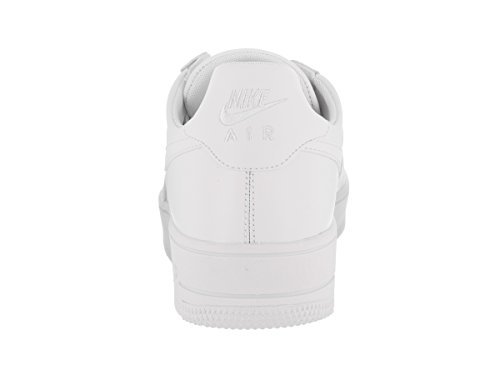 Nike Menns Air Force 1 Ultraforce Lær Basketball Sko Hvit