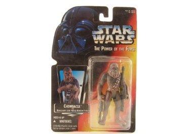 Star Wars Karte.Amazon Com Star Wars Potf Chewbacca With Bowcaster And