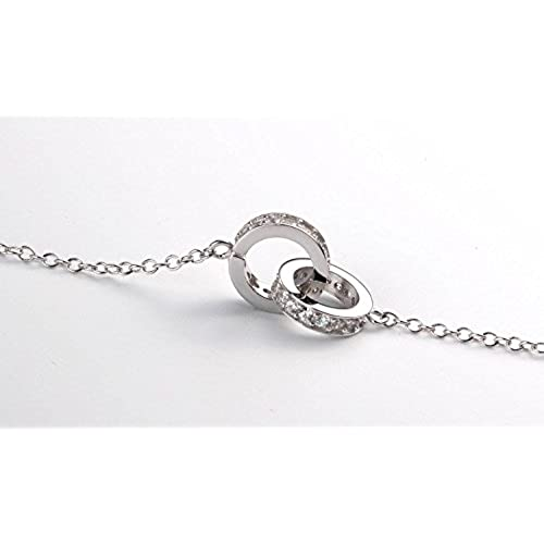 78eab145322f Barato Colgantes Collares Mujer Plata de ley - Infinito Infinity Símbolo  Amor Love Encanto - Cadena
