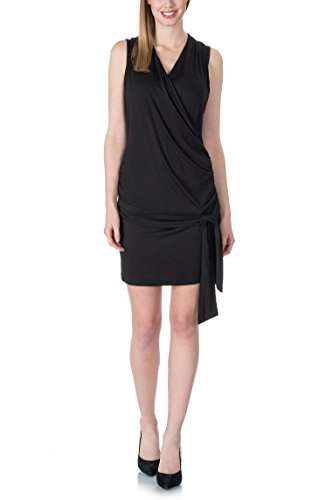 Bellybutton Stillkleid O Arm, Vestido para Mujer Schwarz (black 1048)