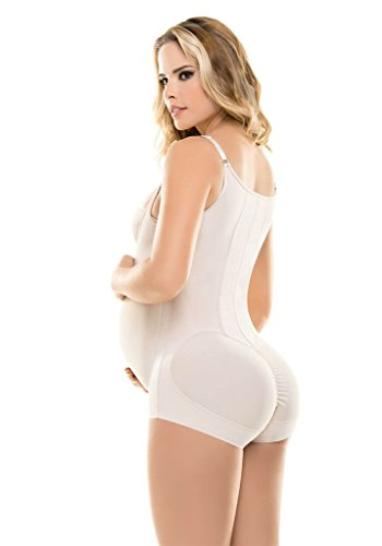 Amazon.com: Fajate Virtual Sensuality Back Support Maternity Shaper With Belt - Faja Soporte de Embarazo: Clothing