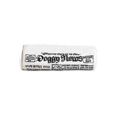 Ethical Pet Dog Vinyl Newspaper With Squeaker