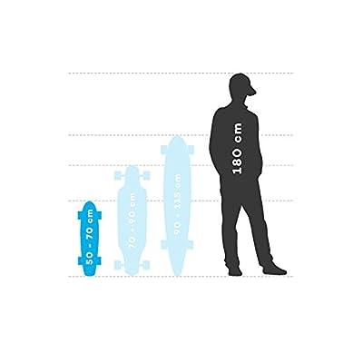 GLOBE Skateboards Globe Bantam Graphic ST Cruiser Complete Skateboard, Black Roses, 23 : Sports & Outdoors