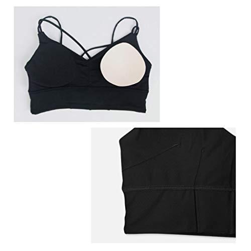 1 3 Size Three Lilongjiao Per Con Four Suit piece Suit Donne 1 color 4 piece Sportivo Xl Senza pack Cuciture pack Reggiseno ttSzqaWZ