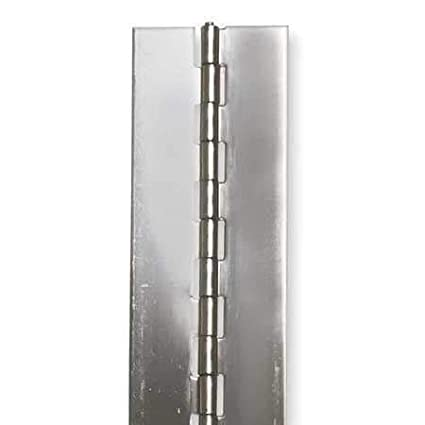 Stainless Steel Continuous Hinge Zoro Select 2ZFK4 1W x 36H