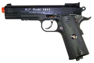 tsd tactical-601 co2 blowback m1911, bbb airsoft gun(Airsoft Gun)