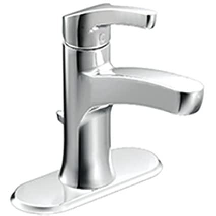 Moen L84733 Single Handle Single Hole Bathroom Faucet From The