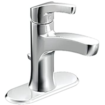 Moen L84733 Single Handle Single Hole Bathroom Faucet from the ...