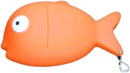 Mr. Timms Fish Coin Purse Sdcc Comic Con Rango Moive Character Pet Golden Fish