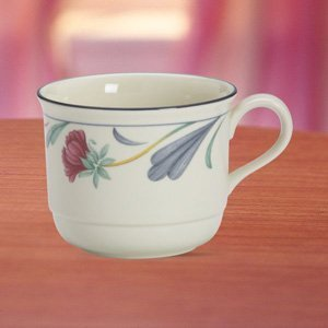 Poppies on Blue Cup by Lenox China