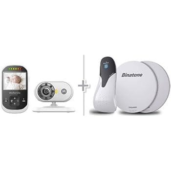 Amazon Com Motorola Mbp25 Wireless Video Baby Monitor