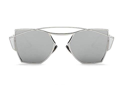 Soleil Les Ultra légères Populaires de polygone Protection F de de YTTY Mode de en Lunettes de Les métal Femmes Dames de métal wxnPqpA