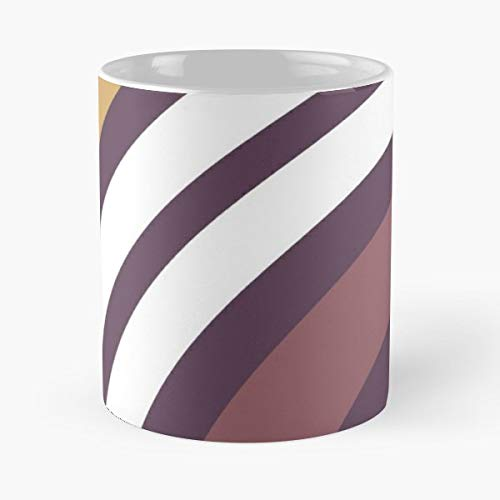 - Lines Wiggly Groovy Graphic - Coffee Mug And Tea Cup Gift 11 Oz Best Mugs For Choose