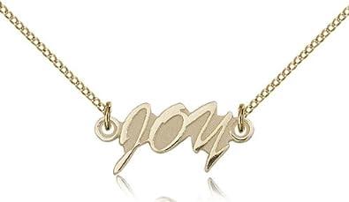 Joy medals gold plated joy pendant including 18 inch necklace joy medals gold plated joy pendant including 18 inch necklace aloadofball Gallery