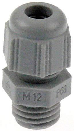 3 Pcs M20x1.5 wasserdicht Connector Verbinder 6-12mm Kabelverschraubung schwarz