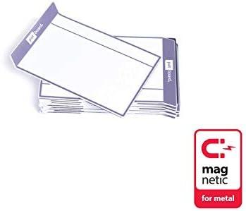 PATboard Scrum Board & Kanban Tafel - magnetische Task Cards - S (klein) - Satz mit 16 - grau