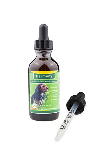 21ka Herbal Relaxant Blend Harmony Anti-Anxiety Drops Dog Cat to Soothe Firework Anxiety, Thunder Fear Travel Stress Away - 2 oz