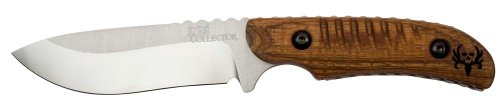 Benchmade Bone Collector Plain Edge Fixed Blade Knife – Walnut Handle, Outdoor Stuffs