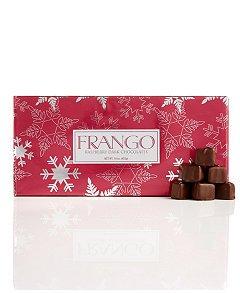 Frango 45-Pc. Holiday Wrapped Dark Raspberry Box of Chocolates