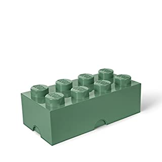 Room Copenhagen 8 Lego Brick Box, Sand Green