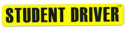 Zento Deals Student Driver Reflective Vehicle Magnet Sign - A Must Have for All Student Drivers for a Safer Trip (Business Advantage Students compare prices)