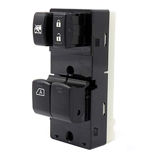 OCPTY Power Window Switch Driver Side Power Window Master Control Switch  fits for 2007-2012 Nissan Frontier (2 Door) Replace 25401-ZP50A 901-878