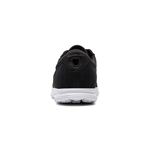 Skechers Black Womens Up GO Shoe Unmatched White STEP Lace rr0n7