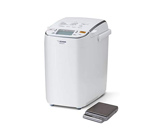 Zojirushi BB-SSC10DS Home Bakery Maestro Breadmaker, 1-pound loaf, Premium White, with Free Digital Scale