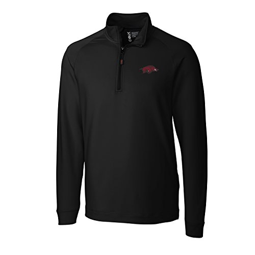 NCAA Arkansas Razorbacks Men's Jackson Half Zip Overknit Jacket, XX-Large, - Men Arkansas