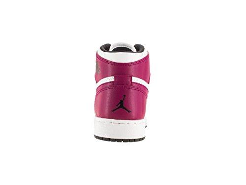Ball Jordan hot Air High de Blanco sport Lava Basket Retro Femme Nike Black White Espadrilles Fuchsia 1 GG zF5SWq