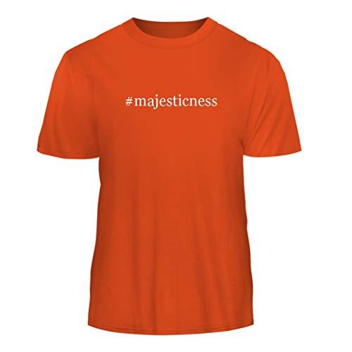 Tracy Gifts #Majesticness - Hashtag Nice Men's Short Sleeve T-Shirt, Orange, (Orange Therma Base)