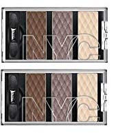 (New York Color HD Color Trio Eye Shadow - Late Night Latte (Pack of 2))