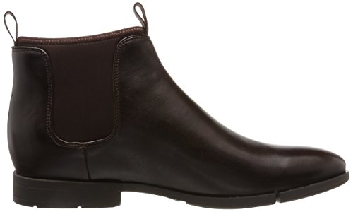 Uomo Clarks Lea Chelsea Up Stivali Daulton dark Marrone Brown qwRwHvZ