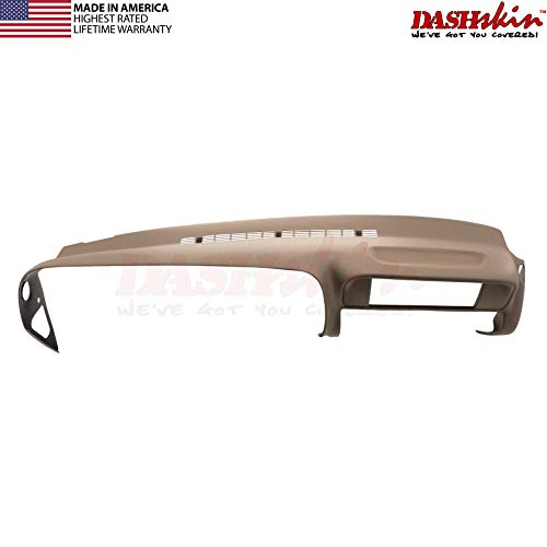 DashSkin Molded Dash Cover Compatible with 97-00 GM SUVs and Pickups in Tan (USA Made)